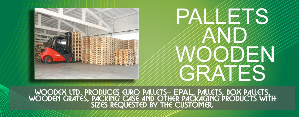 EURO PALLETS – EPAL, pallets, box pallets, wooden grates, packing case and other packaging products